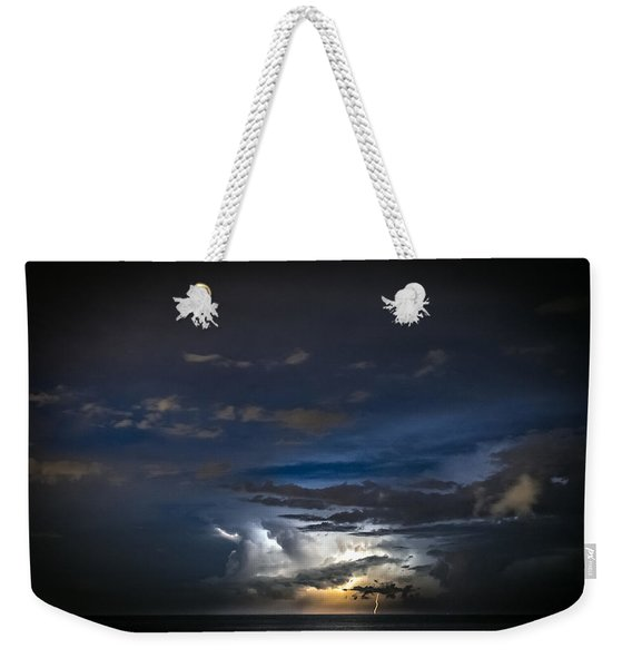Lightning's Water Dance Weekender Tote Bag