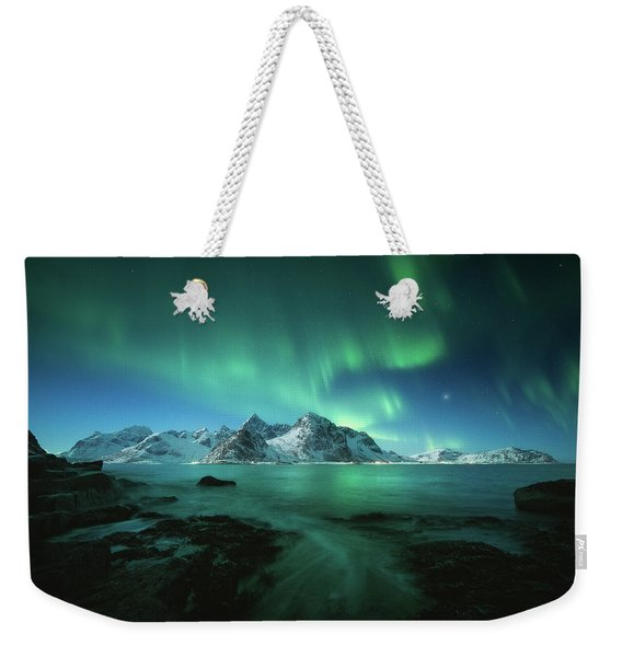 Lights Above Lofoten Weekender Tote Bag