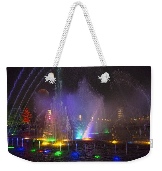 Lights Of A Thousand Wishes Weekender Tote Bag