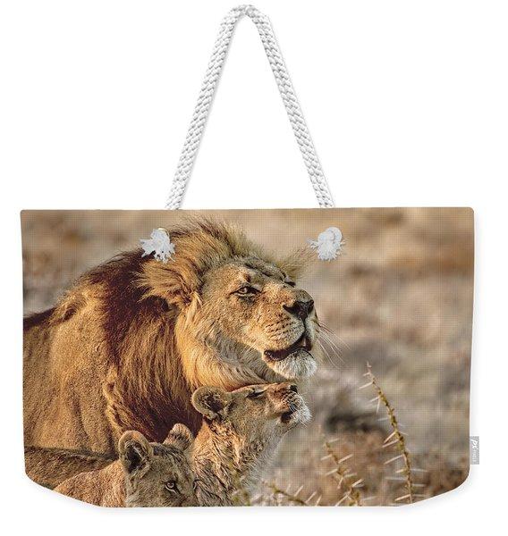Like Father Like Son Weekender Tote Bag