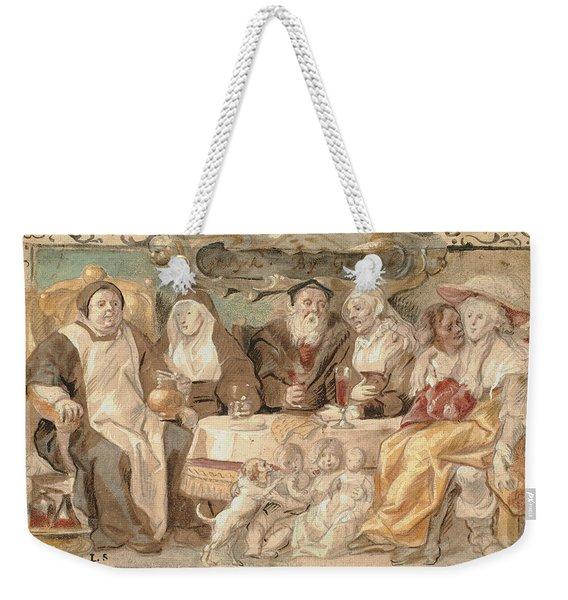 Like To Like Weekender Tote Bag