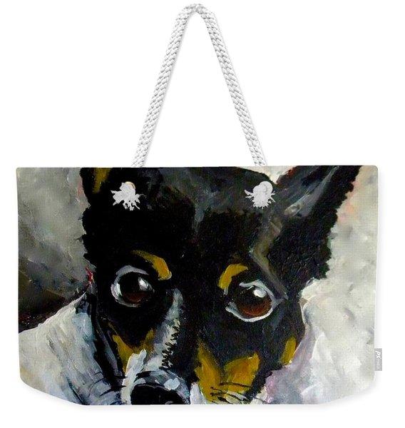 Lil Rat Terrier Weekender Tote Bag
