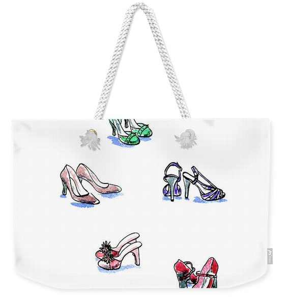 L'il Shoes Weekender Tote Bag