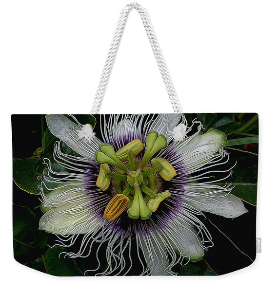 Lilikoi Passion Fruit Weekender Tote Bag