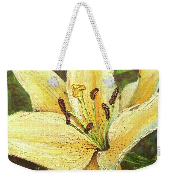 Lily Dream Weekender Tote Bag