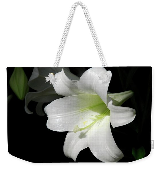 Lily In The Light Weekender Tote Bag