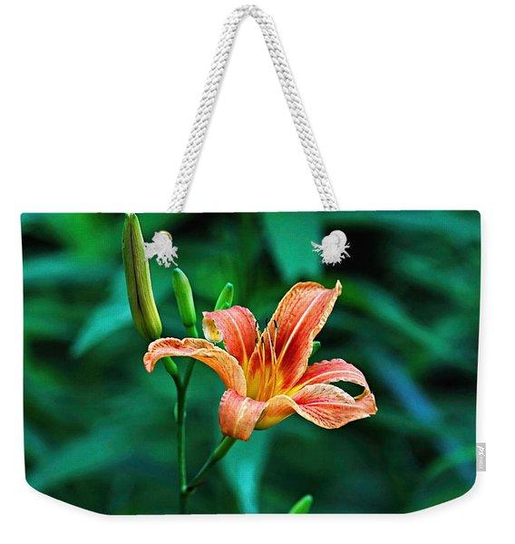 Lily In Woods Weekender Tote Bag