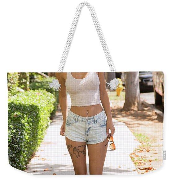 Lily Ivy Weekender Tote Bag