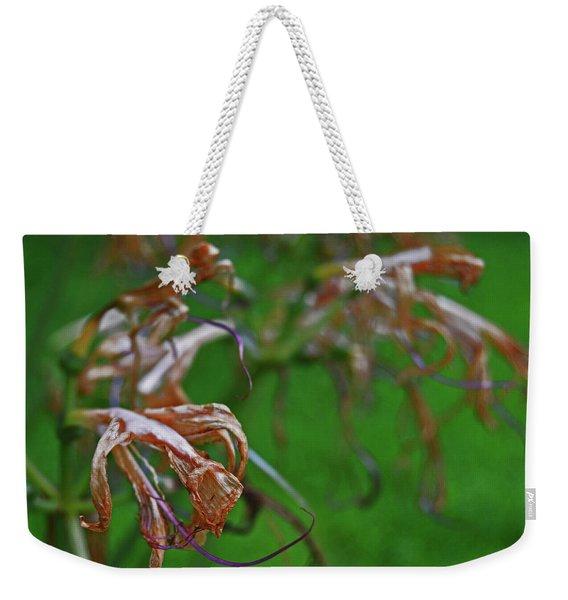 Lily Lavender Dead Weekender Tote Bag