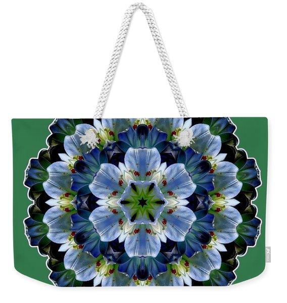 Lily Medallion Weekender Tote Bag