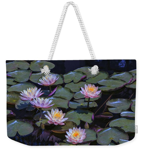 Lily Of The Night Weekender Tote Bag