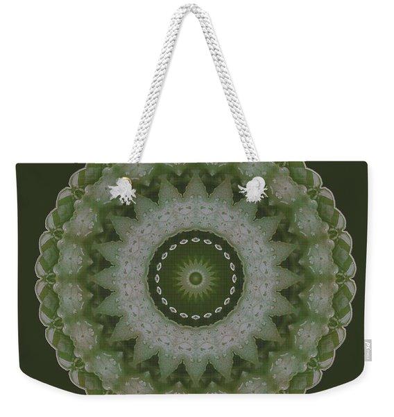 Lily Plaid Weekender Tote Bag