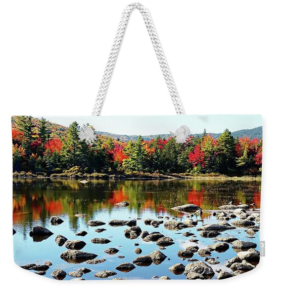 Lily Pond - Kancamagus Highway - New Hampshire Weekender Tote Bag