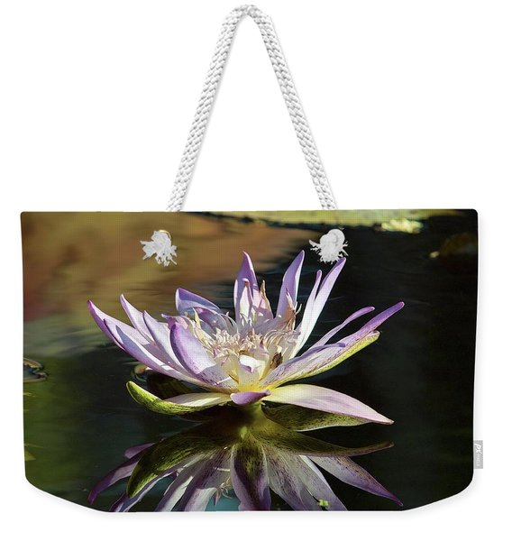 Lily Reflections Weekender Tote Bag