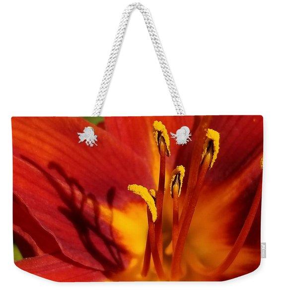 Lily Shadows Weekender Tote Bag