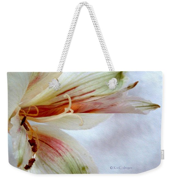 Lily With Texture Weekender Tote Bag