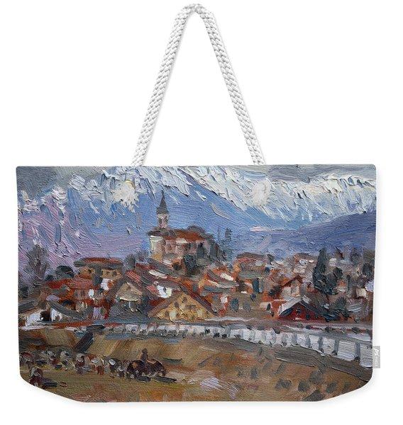 Limana, Belluno, Italy Weekender Tote Bag