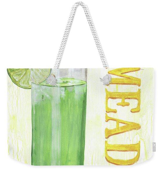 Limeade Weekender Tote Bag