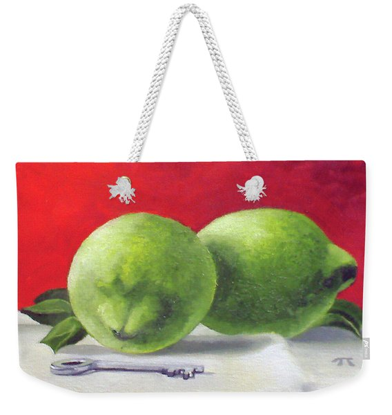Limes Weekender Tote Bag