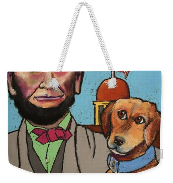 Lincoln And Fido Weekender Tote Bag