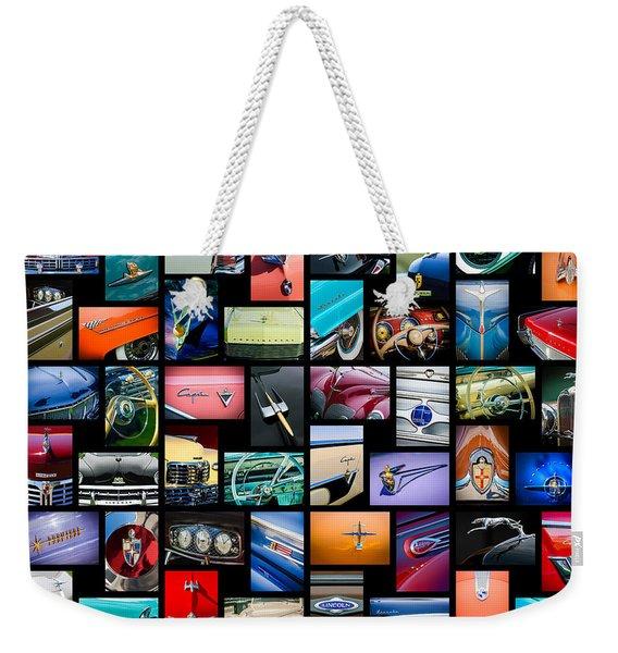 Lincoln Art -01 Weekender Tote Bag