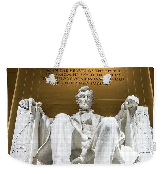 Lincoln Memorial 2 Weekender Tote Bag