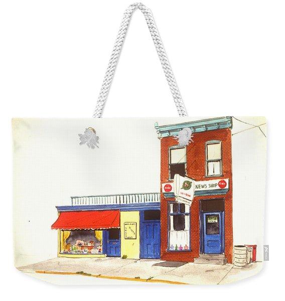 Lincoln News Weekender Tote Bag