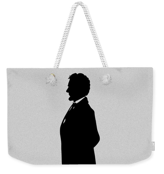Lincoln Silhouette And Signature Weekender Tote Bag
