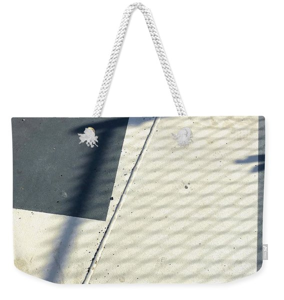 Line And Shadow Weekender Tote Bag