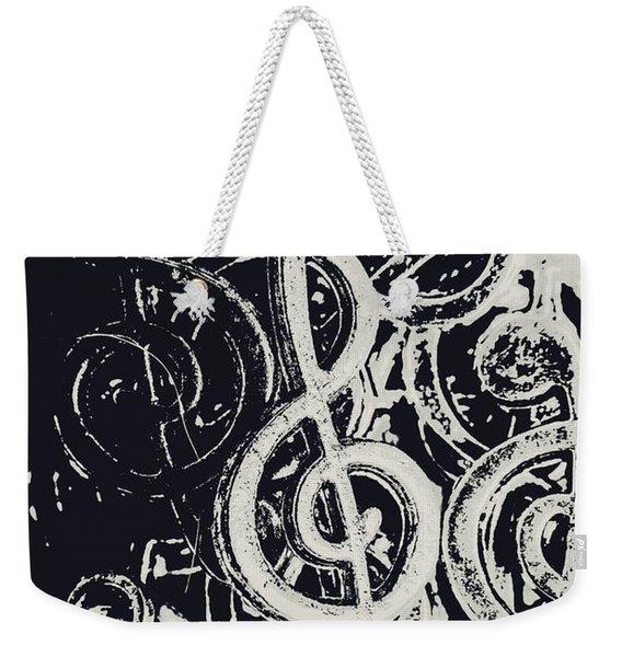 Line Ensemble Weekender Tote Bag