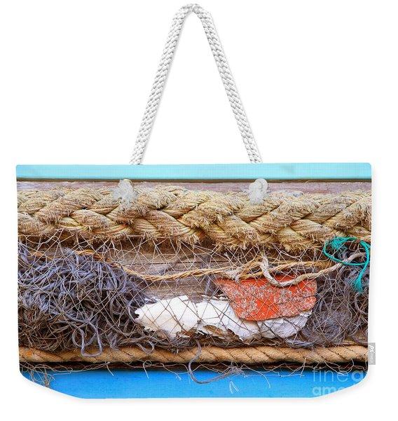 Line Of Debris Weekender Tote Bag