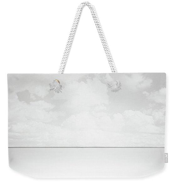 Line Of Sight Weekender Tote Bag