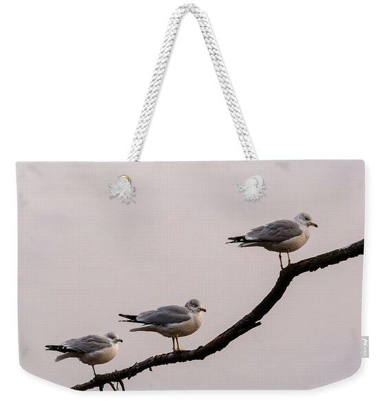 Line-up Weekender Tote Bag