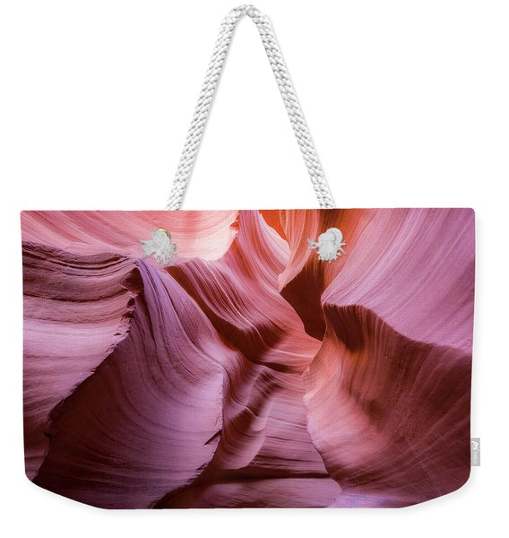 Lines In The Canyon Weekender Tote Bag