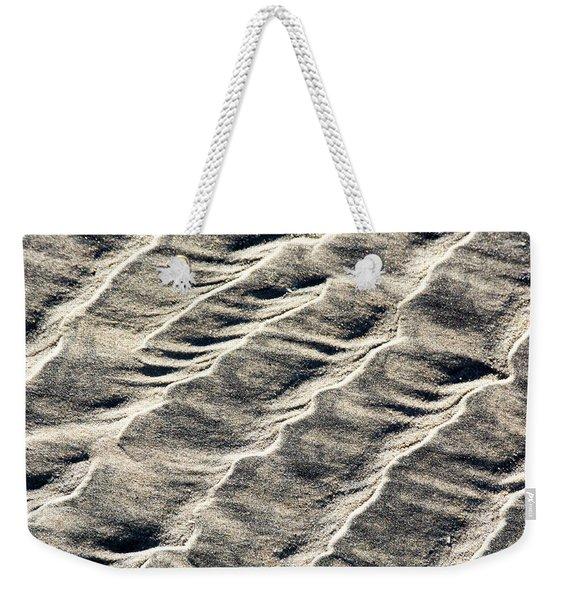 Lines On The Beach Weekender Tote Bag