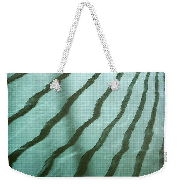 Lines On The Water Weekender Tote Bag