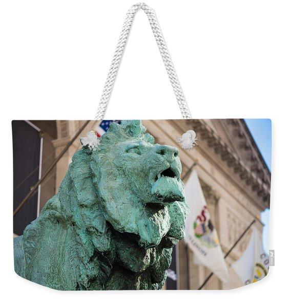 Lion Art Institute Weekender Tote Bag