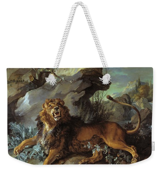 The Lion And The Fly  Weekender Tote Bag