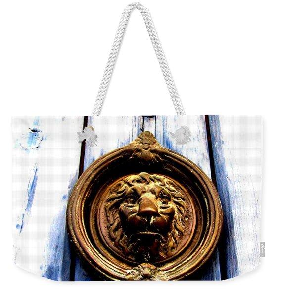 Lion Dreams Weekender Tote Bag