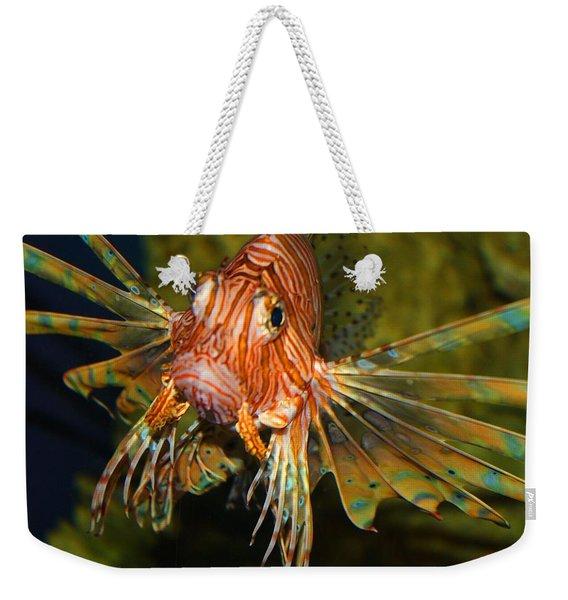 Lion Fish 2 Weekender Tote Bag