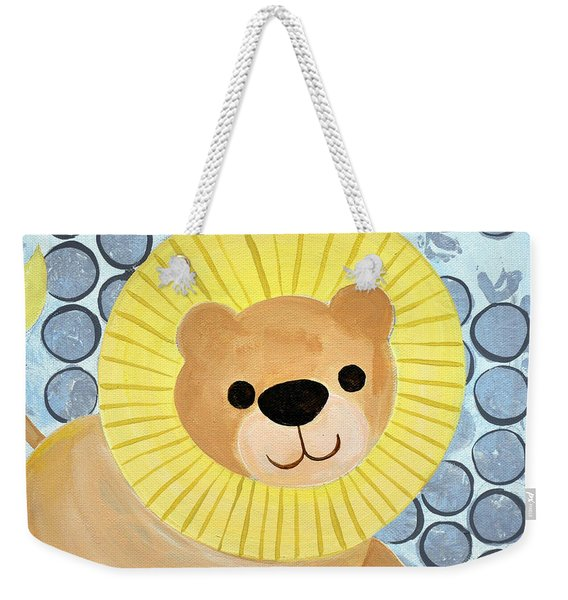 The Blessing Of The Lion Weekender Tote Bag