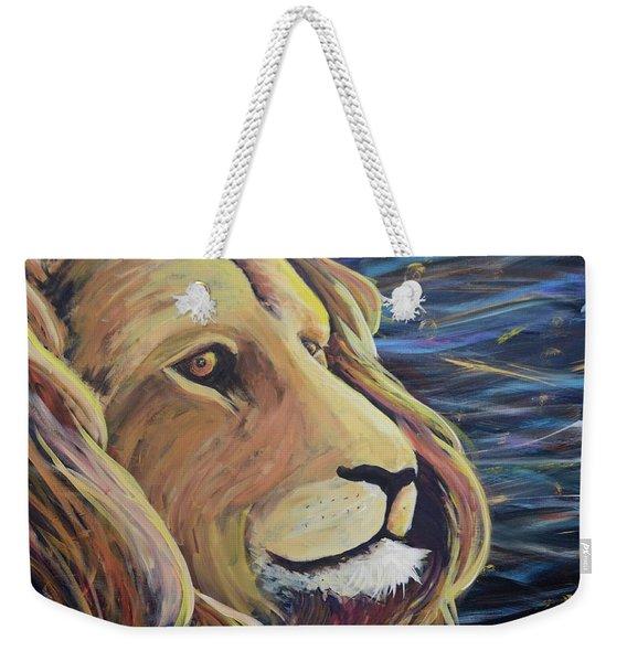 Lion Of Judah Weekender Tote Bag