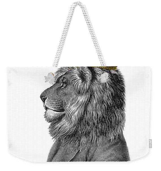 Lion The King Of The Jungle Weekender Tote Bag