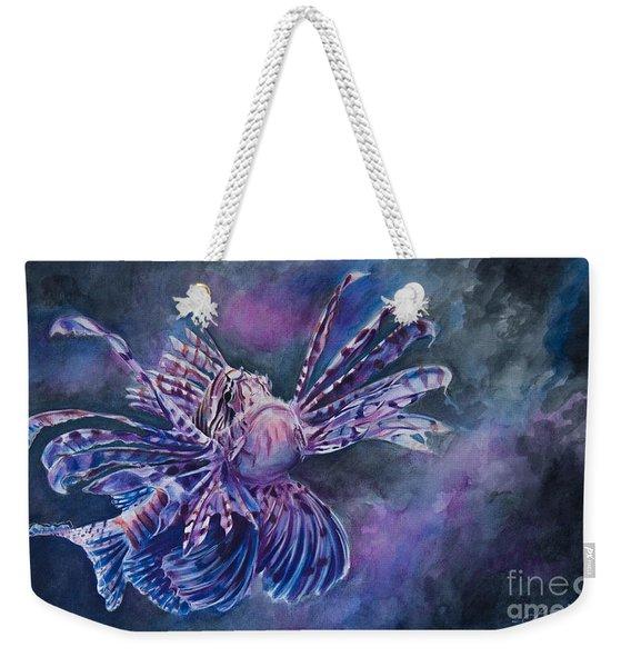 Lionfish Weekender Tote Bag