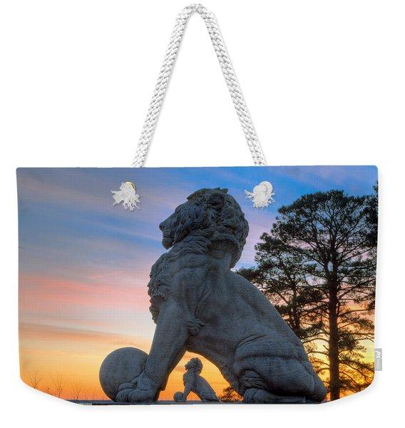 Lions Bridge At Sunset Weekender Tote Bag