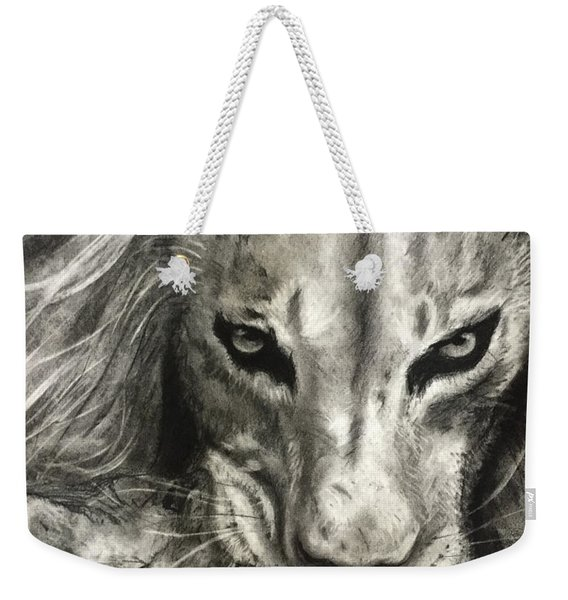 Lion's World Weekender Tote Bag