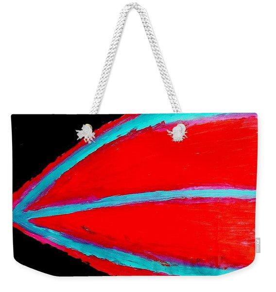 Boat Lips Weekender Tote Bag