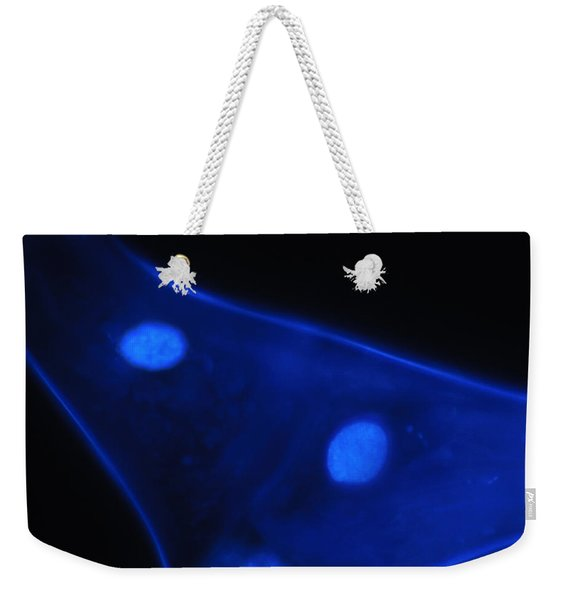 Liquid Blue 1 Weekender Tote Bag