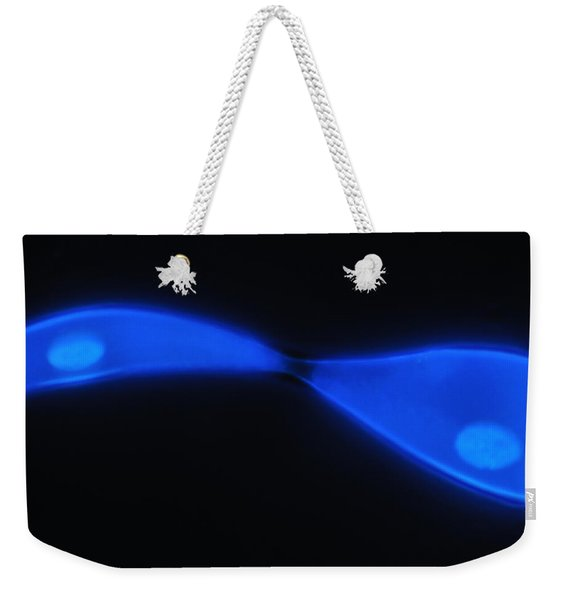 Liquid Blue 2 Weekender Tote Bag
