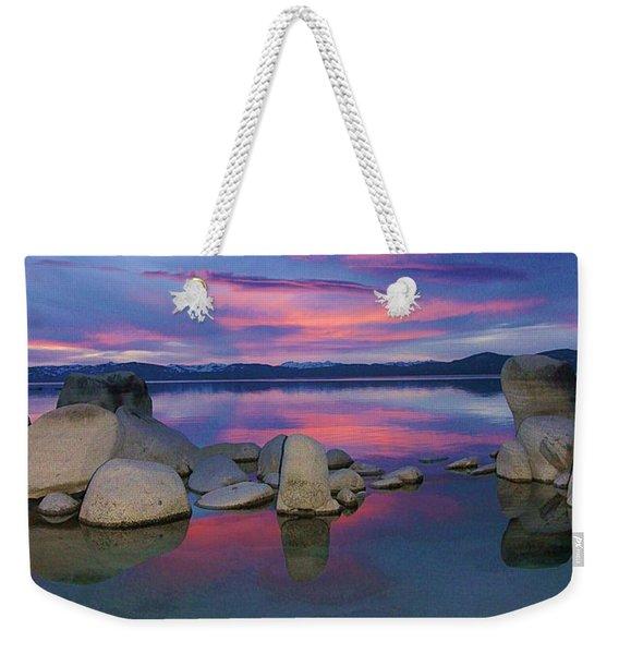 Liquid Dreams Portrait Weekender Tote Bag
